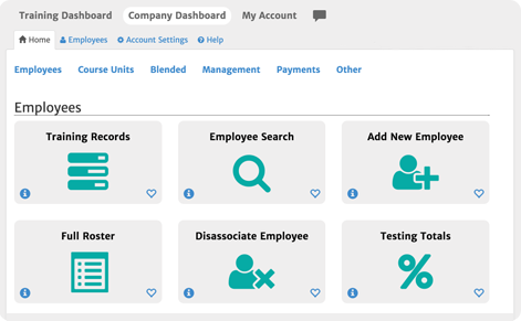 Track employees with your corporate dashboard