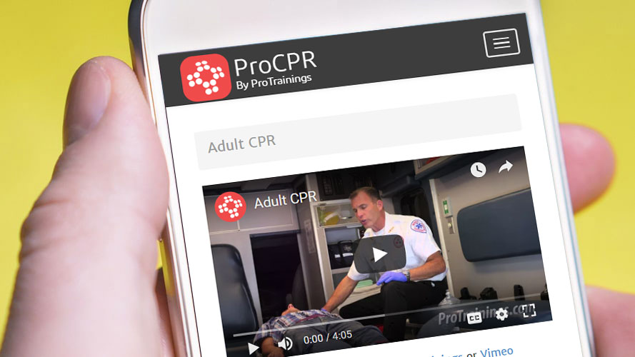 CPR training from your phone