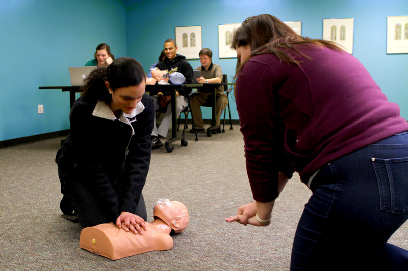 On-site blended CPR certification